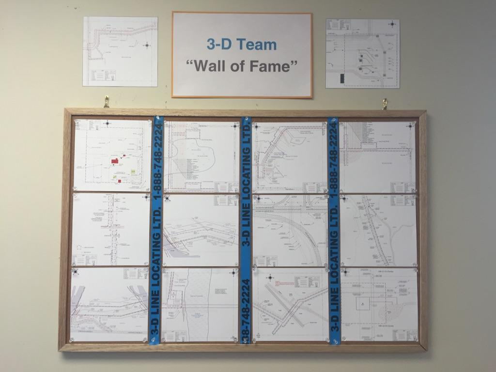 Map Wall of Fame